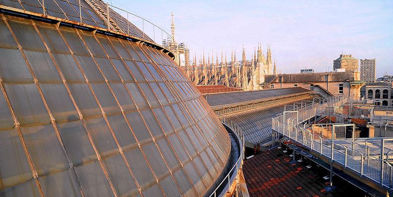 Milano dall'alto Highline Galleria