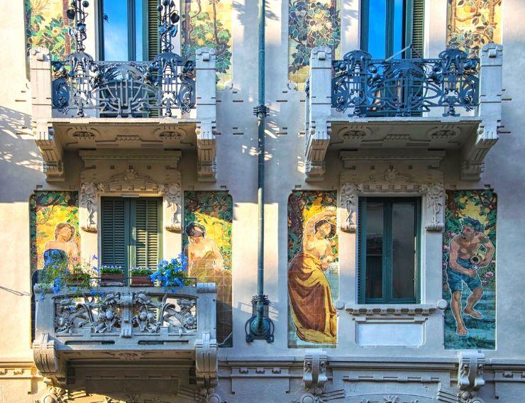 Tour liberty Milano