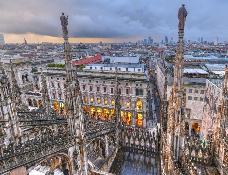 Tour Guglie Duomo Milano