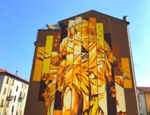 Tour Ortica street art