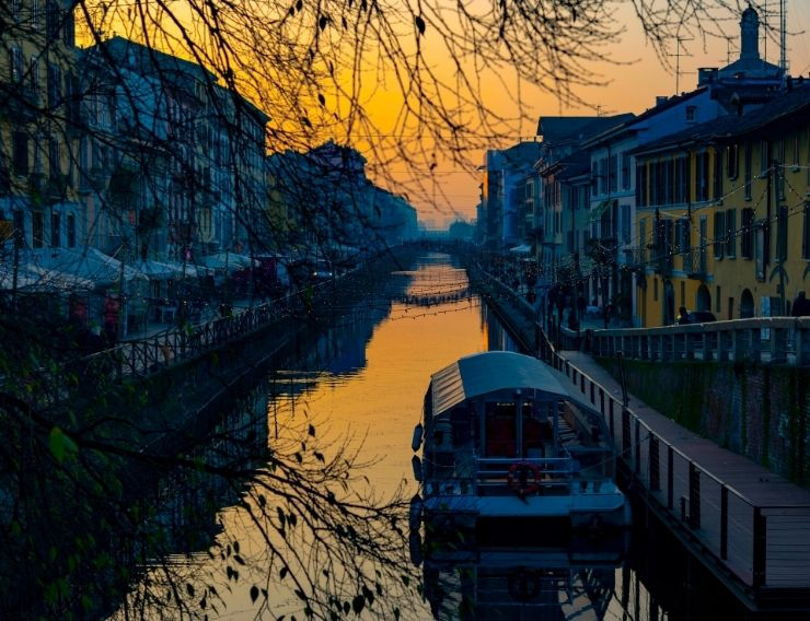 running Milano