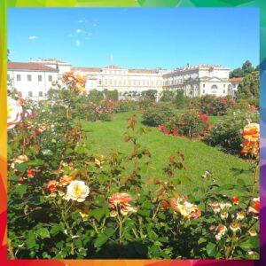 roseto e giardini villa reale monza